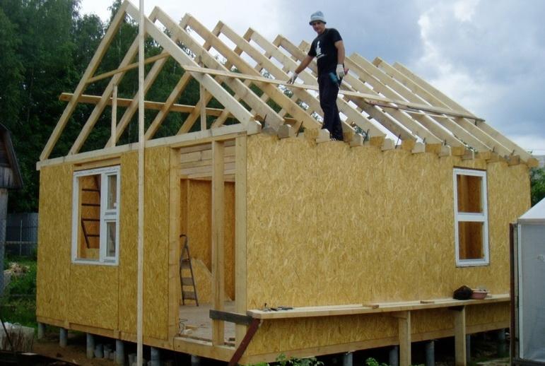 Каркасный дом 5х6 проект своими руками 17